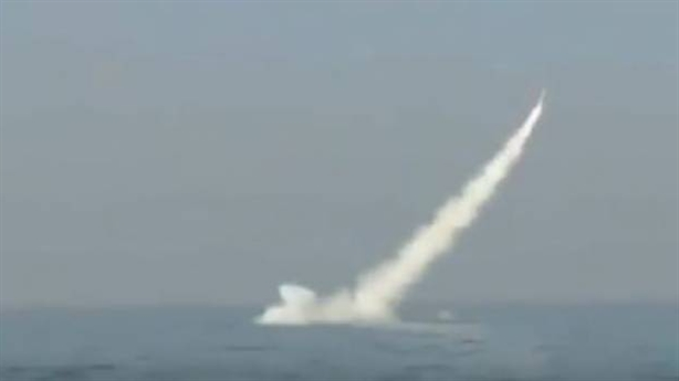 Tàu ngầm Pakistan phóng tên lửa có thể mang đạn hạt nhân
