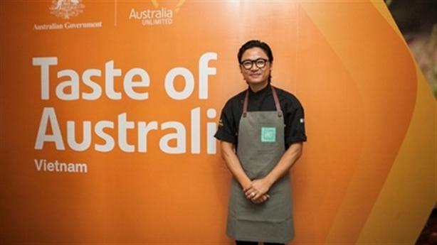 Đầu bếp Luke Nguyễn chủ trì chương trình Hương vị Úc 2019