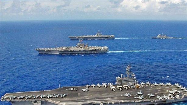 Tàu sân bay Mỹ ở Địa Trung Hải dọa Nga