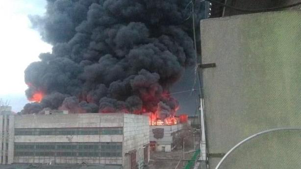 Nhà máy sản xuất tên lửa ICBM Sarmat cháy ngùn ngụt