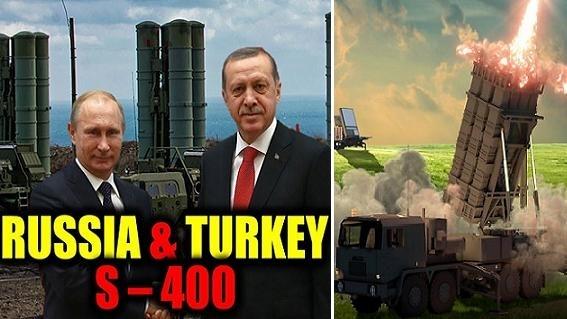 Thổ Nhĩ Kỳ thí 'con tốt' Patriot, quyết mua S-400 Triumph Nga