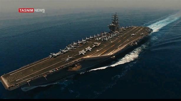 Mỹ không hay biết khi tàu sân bay bị Iran ngắm?