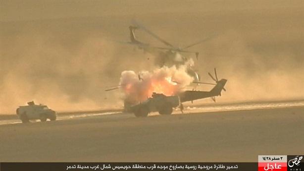 Phiến quân phá hủy trực thăng Nga khi đánh vào Hmeymim