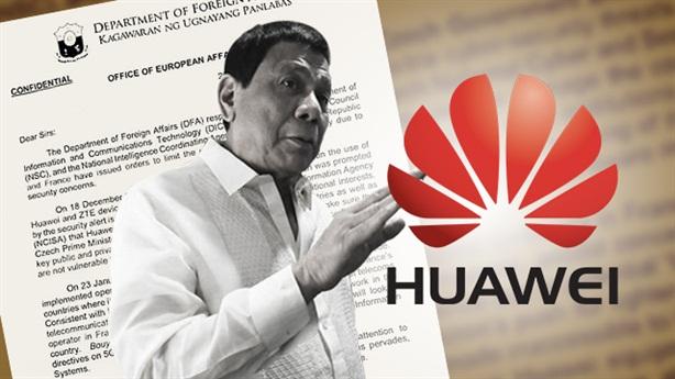 Philippines điều tra Huawei sau khi Mỹ nhắc nhở đồng minh