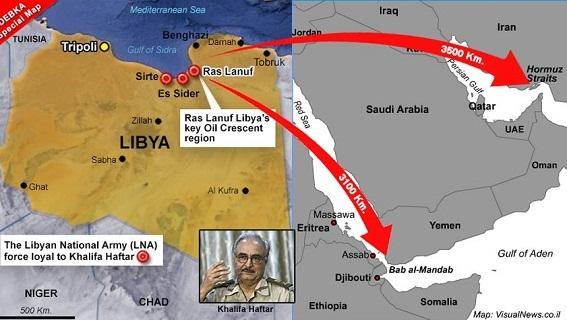 Iran phong tỏa eo biển Hormuz, Mỹ chơi ngón đòn Ras Lanuf