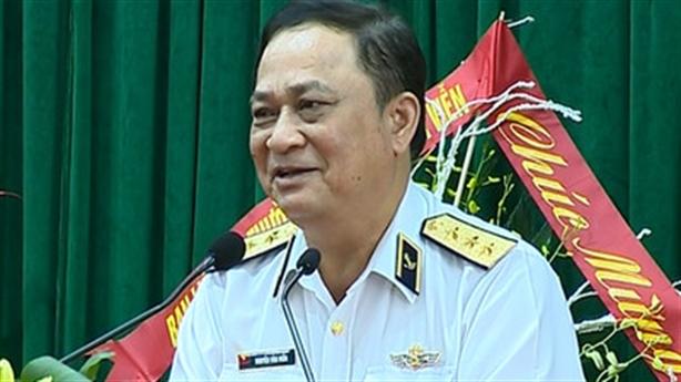 Đô đốc Nguyễn Văn Hiến vi phạm quản lý đất quốc phòng