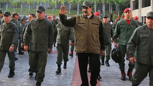 Ông Maduro kêu gọi quân đội sẵn sàng nếu Mỹ tấn công