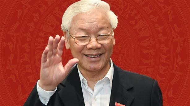 Tổng Bí thư Nguyễn Phú Trọng chúc mừng Quốc vương Thái Lan