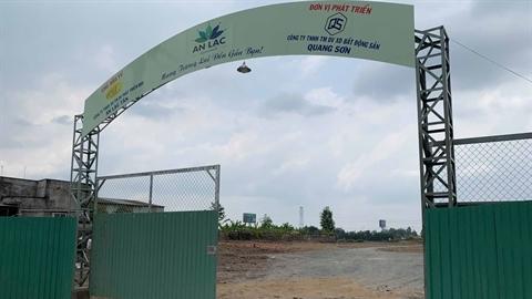 Gần chục sàn môi giới bán 'chui' dự án An Lạc Riveside?