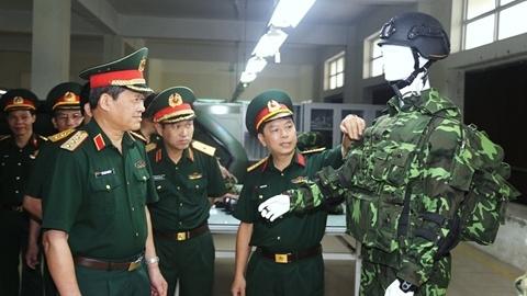 Ngạc nhiên trước hình ảnh người lính Việt Nam tương lai