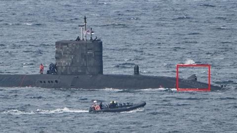 Anh 'tóm sống' tàu ngầm Nga bởi khí tài siêu đặc biệt?