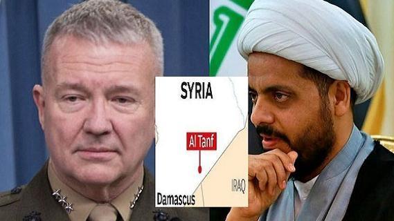 Mỹ nhảy dựng trước thông tin Iran định 'nhổ' căn cứ al-Tanf