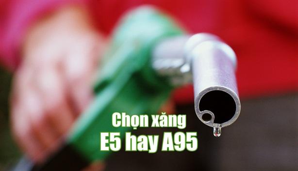 Ế xăng E5, nhiều đại lý đổi sang bán xăng RON95