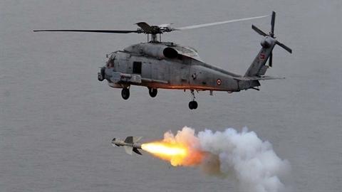 Trực thăng Mỹ vừa chống ngầm vừa diệt hạm tầm xa 180km
