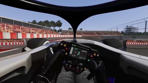 """""""Lái thử"""" cỗ xe F1 chạy 300km/h trên đường đua Hà Nội"""