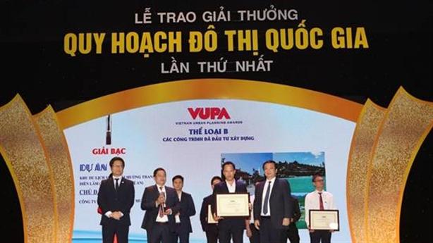 Mường Thanh nhận giải thưởng Quy hoạch Đô thị Quốc gia