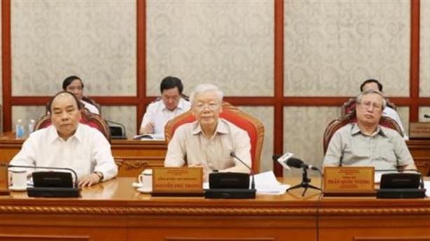 Bộ Chính trị quyết định một số trường hợp nhân sự