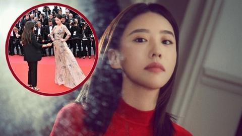Nhan sắc 'hầu gái' Diên Hi công lược bị đuổi khỏi Cannes
