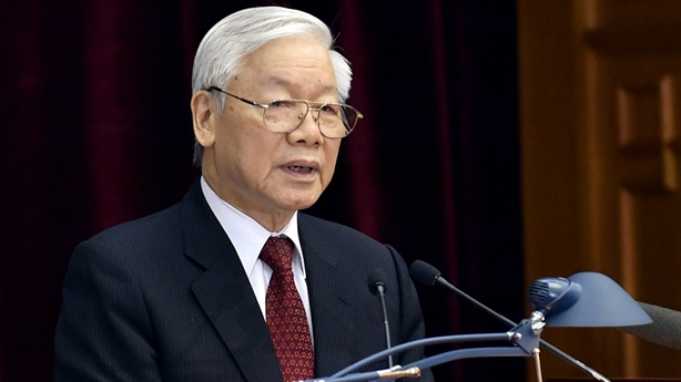 Tổng Bí thư Nguyễn Phú Trọng chủ trì Hội nghị TƯ 10