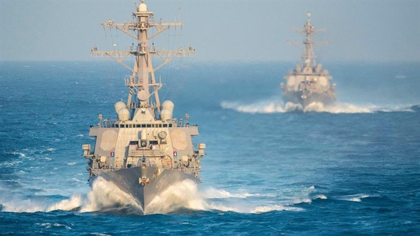 Mỹ đưa kho Tomahawk áp sát Iran