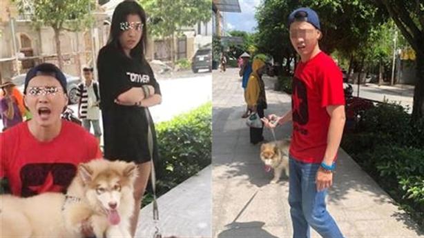 Việt kiều dắt chó nằm máy lạnh: Vợ đòi xét nghiệm ADN