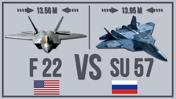 F-22, F-35 Mỹ vượt trội Su-57 Nga ở… mức giá trên trời