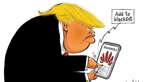 Huawei kiện chính quyền Trump, Mỹ khóa đường sắt Trung Quốc