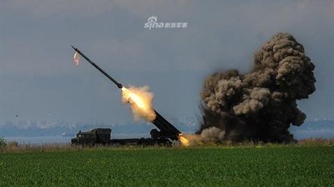 Ukraine khoe pháo phản lực phóng loạt 'vượt trội BM-30 Smerch'