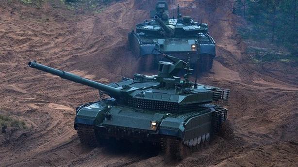 T-90M ra đòn khi đối phương chưa kịp phát hiện