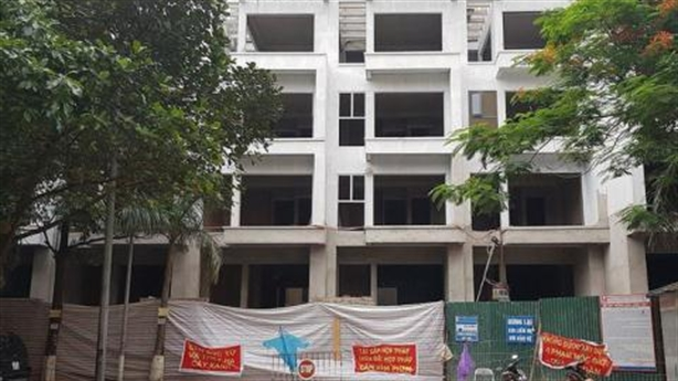 Dự án 54 Hạ Đình chiếm lối dân: Kiên quyết xử lý