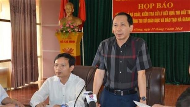 Sửa điểm ở Hà Giang: Làm rõ trách nhiệm phụ huynh