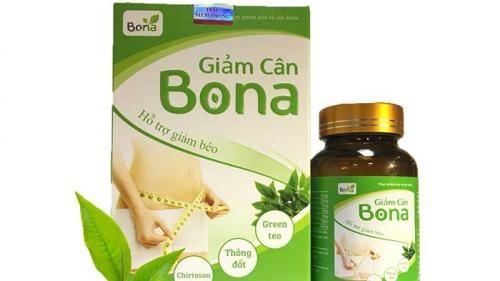 Quảng cáo thực phẩm giảm cân Bona liên tục vi phạm