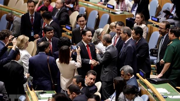 Thế giới ấn tượng khi Việt Nam trúng cử LHQ