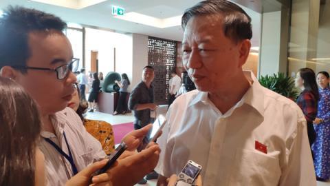 Đại tướng Tô Lâm thông tin về việc bắt Trịnh Sướng