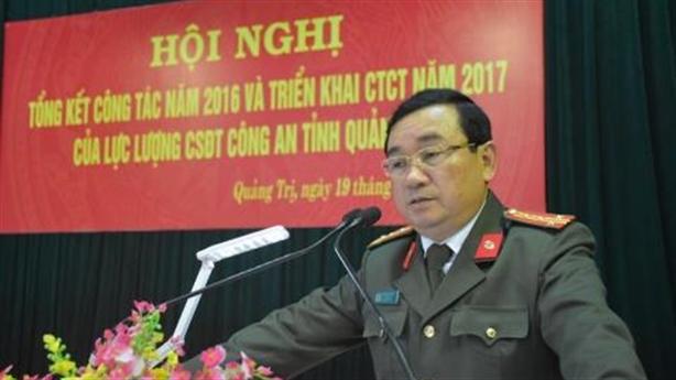 Bộ Công an xác minh tố cáo GĐ Công an Quảng Trị