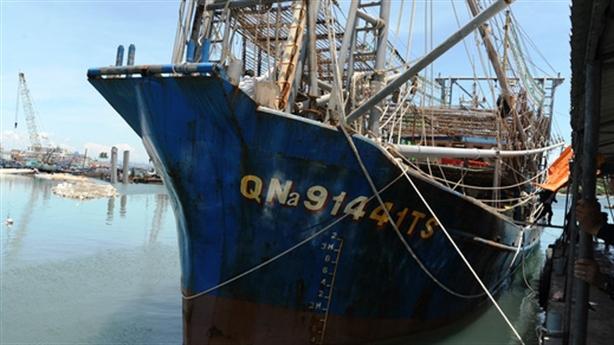 Phản đối tàu treo cờ Trung Quốc cướp hải sản ngư dân