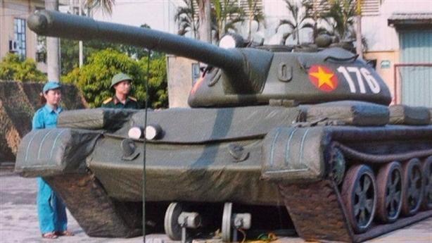 Vũ khí ngụy trang Việt Nam trên báo Nga