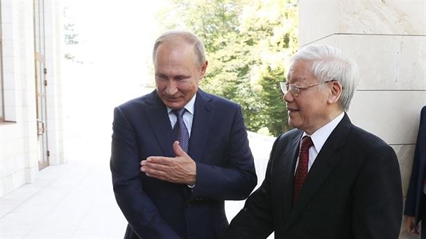 Tổng Bí thư Nguyễn Phú Trọng mừng Quốc khánh Liên bang Nga