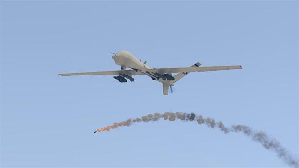 MQ-9 bị Iran bắn ngay trước khi tàu dầu bị tấn công