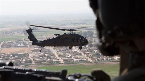 Mỹ trang bị gì cho căn cứ trực thăng tại Syria?