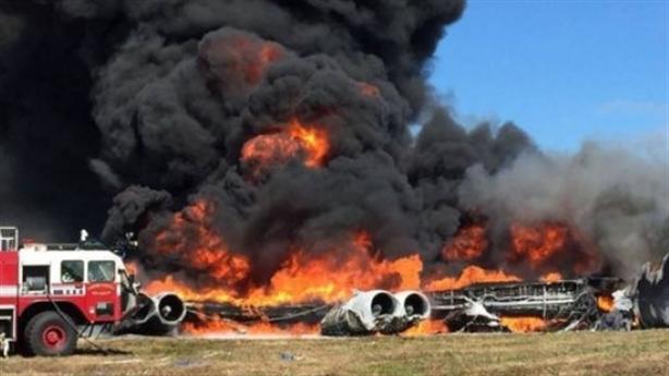 B-52H bốc cháy sau khi bị Su-27 áp sát trên Baltic