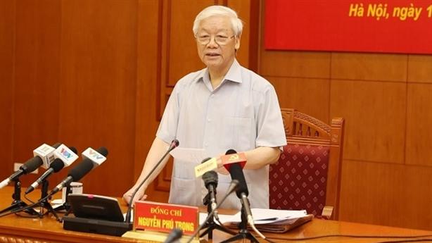 Cử tri chúc Tổng Bí thư Nguyễn Phú Trọng