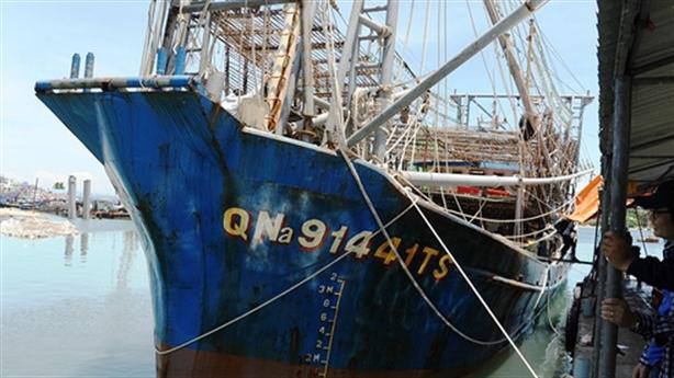 Ngư dân liên kết trên biển, không ngán tàu Trung Quốc