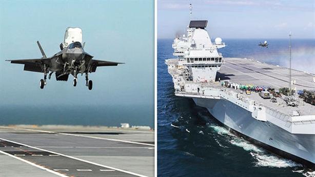 Nga soi rõ cuộc không kích Syria bằng F-35B của Anh?
