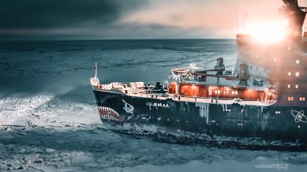 Cách tàu Nga phá băng dễ như bơi trên mặt nước