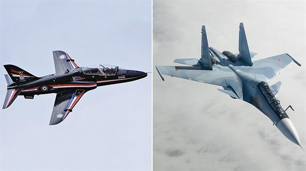 Anh quảng bá sức mạnh Không quân bằng tiêm kích Nga