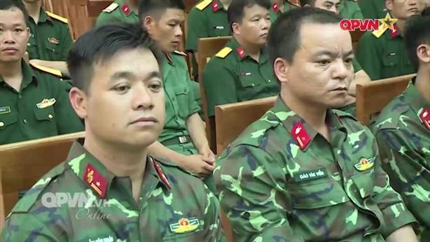 Lộ diện quân phục dã chiến thế hệ mới của Việt Nam