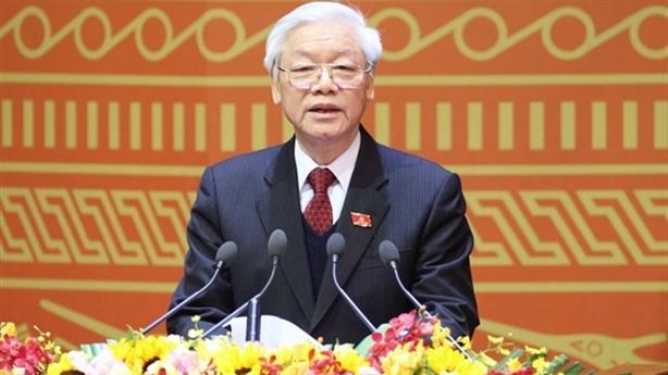 Tổng Bí thư Nguyễn Phú Trọng gửi điện mừng Quốc khánh Mỹ
