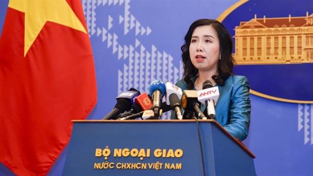Việt Nam theo dõi Trung Quốc thử tên lửa ở Biển Đông
