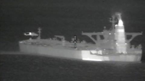 Đặc nhiệm Anh tấn công chiếm tàu chở dầu Iran trong đêm?